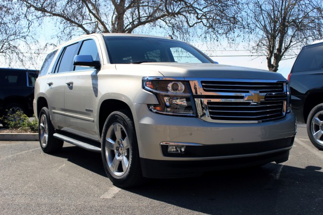 2015 Chevrolet Tahoe first drive