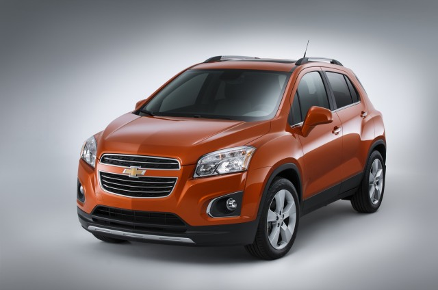2015 Chevrolet Trax, Buick Encore Small SUVs Get IIHS Top ...
