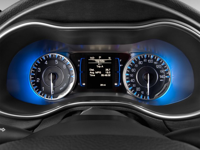 2015 Chrysler 200 4-door Sedan Limited FWD Instrument Cluster
