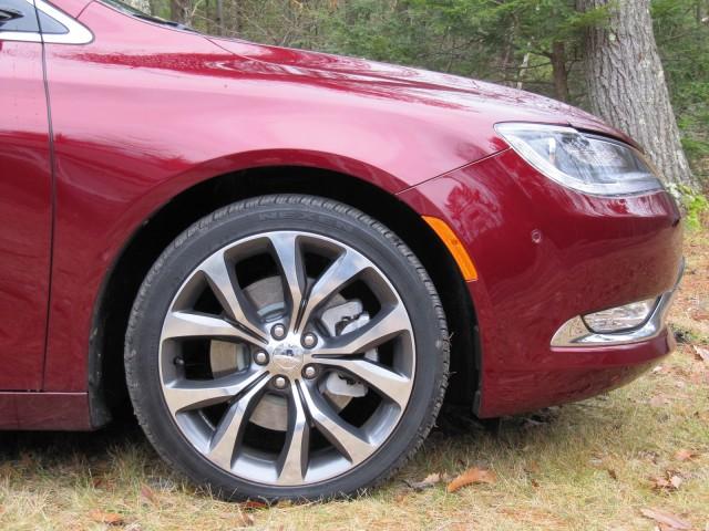 2015 Chrysler 200, Catskill Mountains, NY, Dec 2014