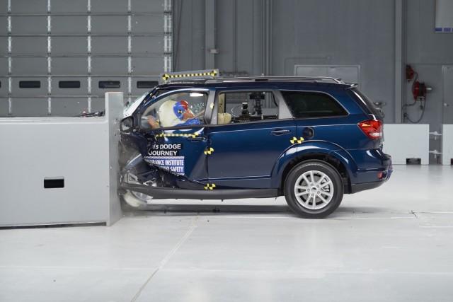 2015 Dodge Journey - IIHS small overlap frontal crash test