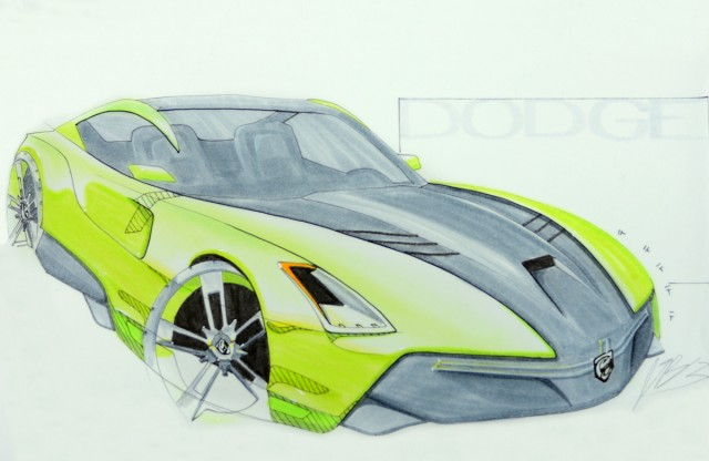 2015 FCA design contest. First place sketch by Joshua Blundo.