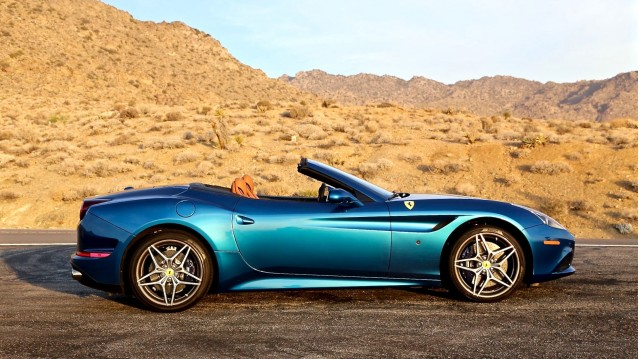 Palm Springs, California--Ferrari California T Joy Ride