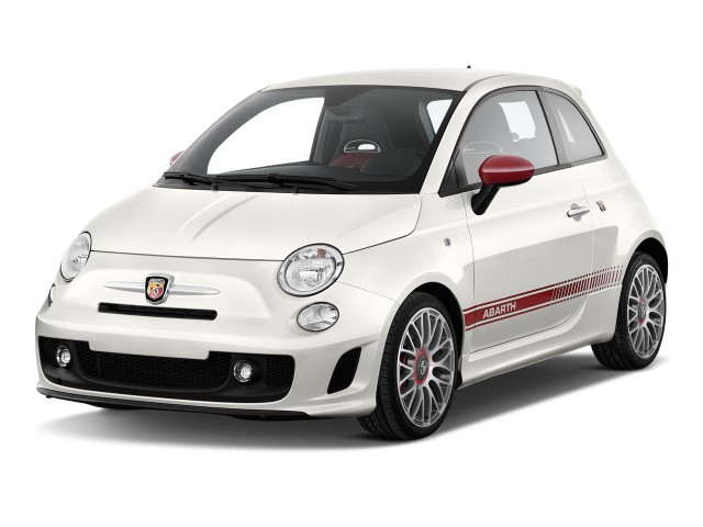 2015 FIAT 500 2-door HB Abarth Angular Front Exterior View