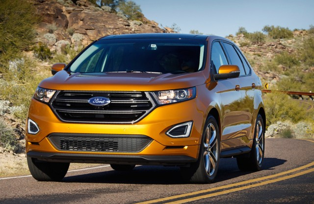 2015 Nissan Murano vs Ford Edge Hyundai Santa Fe Sport Jeep Grand