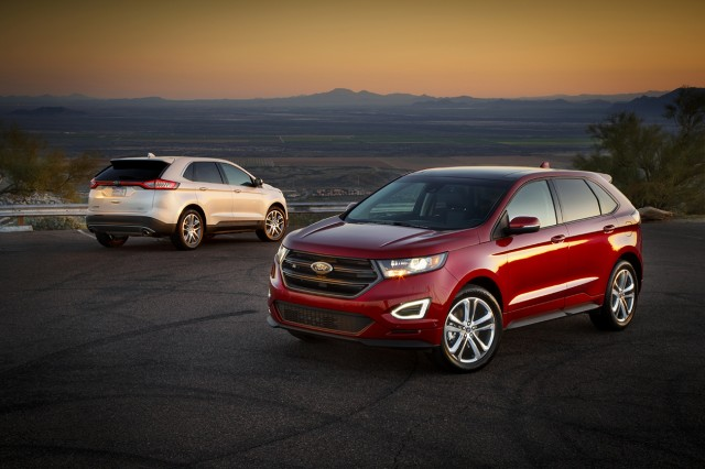 Ford Edge Earns Mostly Good Iihs Scores Five Star Ncap Rating