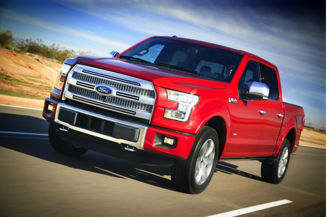 aluminum bodied 2015 ford f 150 pickup truck buyers intrigued report says