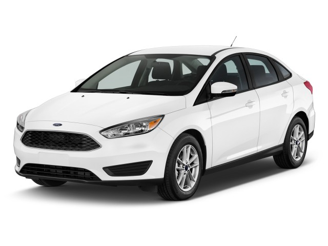 2015 Ford Focus 4-door Sedan SE Angular Front Exterior View