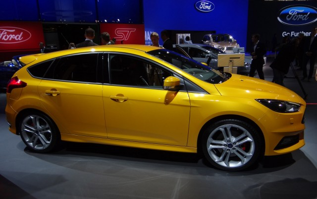 2015 Ford Focus ST, 2014 Paris Auto Show