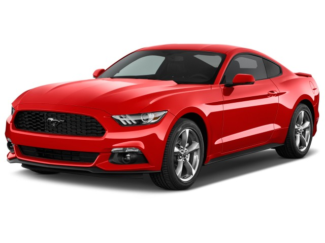 2015 Ford Mustang 2-door Fastback V6 Angular Front Exterior View