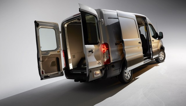 Ford Transit 150 Cargo Van >> Ford Transit Van Gets Add-In Hybrid Kit For Better Fuel ...