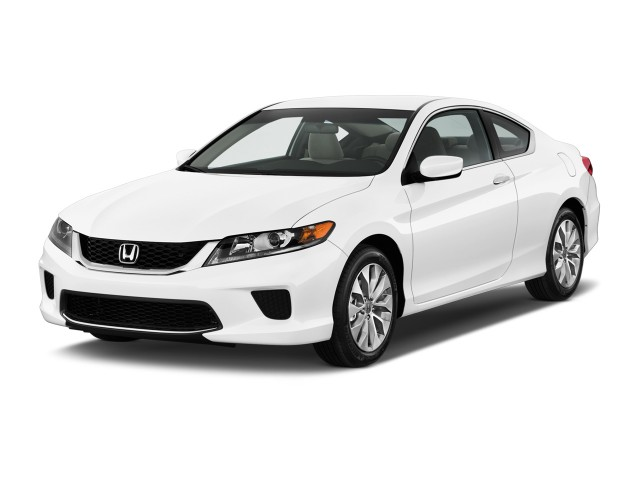 2015 Honda Accord Coupe 2-door I4 CVT LX-S Angular Front Exterior View