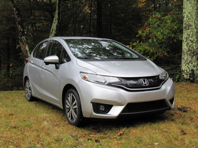 2015 Honda Fit EX L Navi, Catskill Mountains, NY, Oct 2014