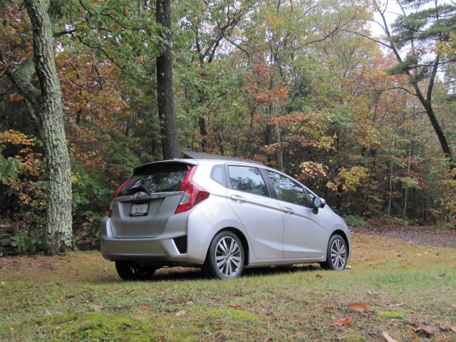 Marvelous 2015 Honda Fit EX L Navi, Catskill Mountains, NY, Oct 2014