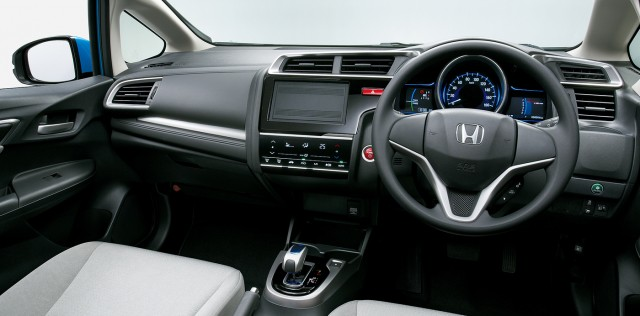 2015 Honda Fit Hybrid (Japanese Model)