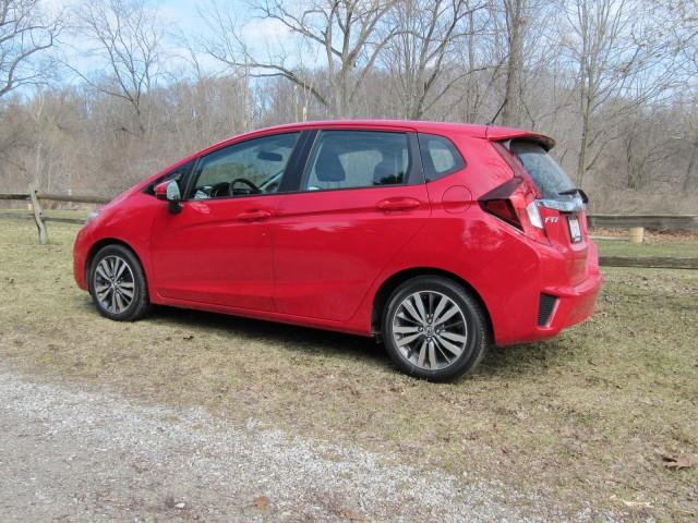 2015 Honda Fit, test drive around Ann Arbor, Michigan, Apr 2014