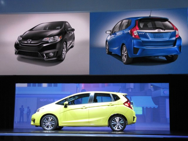 2015 Honda Fit launch at 2014 Detroit Auto Show