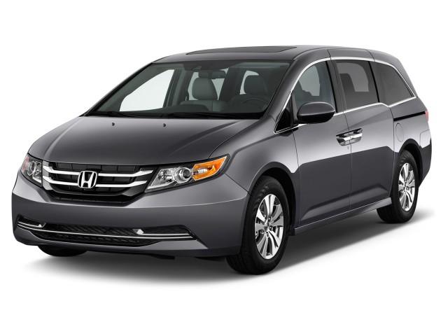 2015 Honda Odyssey 5dr EX-L Angular Front Exterior View