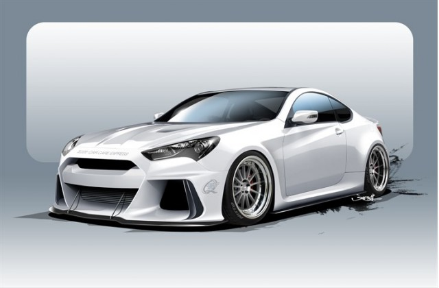 Ark Performance Genesis Coupe