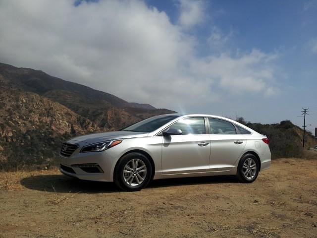 2015 Hyundai Sonata Eco, Malibu, California, Oct 2014