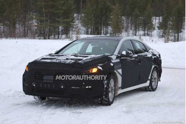 2015 Hyundai Sonata spy shots