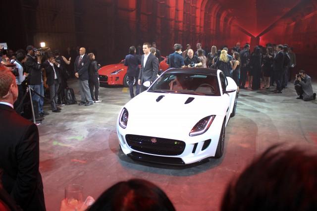 2015 Jaguar F-Type Coupe, 2013 Los Angeles Auto Show