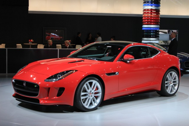2015 Jaguar F-Type Coupe, 2013 Los Angeles Auto Show