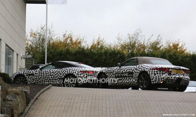 2015 Jaguar F-Type coupe spy shots
