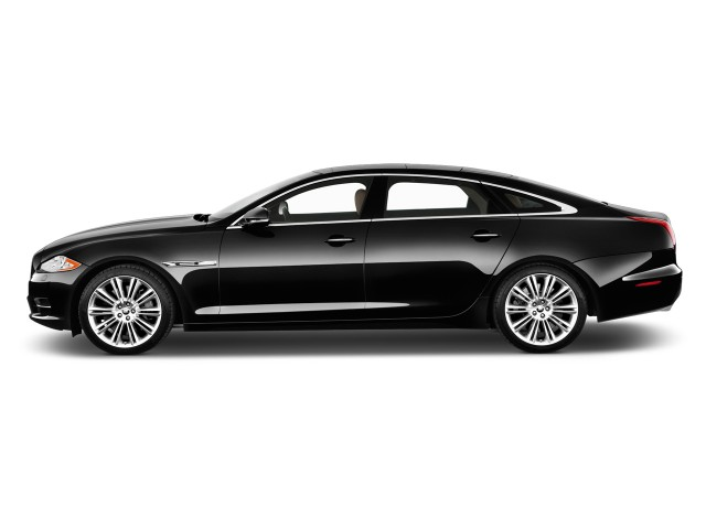 Side Exterior View - 2015 Jaguar XJ 4-door Sedan XJL Supercharged RWD