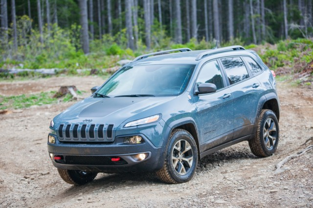 2015 Jeep Cherokee Trailhawk - at Northwest Automotive Press Association 'Mudfest'