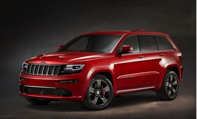 2015 Jeep Grand Cherokee SRT Red Vapor