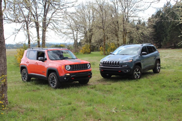 2015 Jeep Renegade and 2015 Jeep Cherokee
