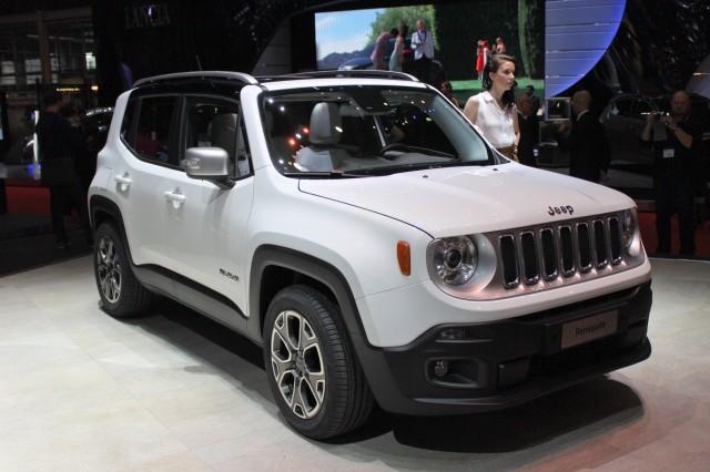 2015 Jeep Renegade, 2014 Geneva Motor Show