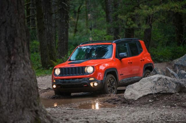 2015 Jeep Renegade Trailhawk - at Northwest Automotive Press Association 'Mudfest'