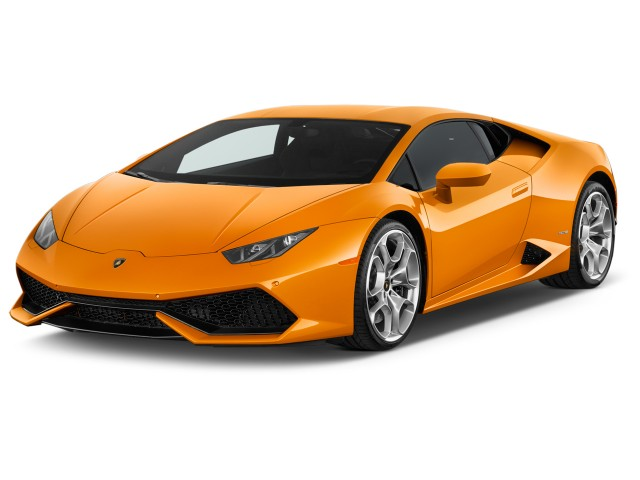 2015 Lamborghini Huracan 2-door Coupe LP 610-4 Angular Front Exterior View