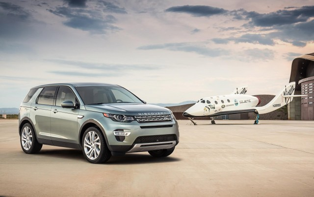 2015 Land Rover Discovery Sport at Virgin Galactic's Spaceport America