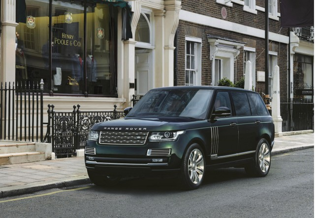 2015 Land Rover Range Rover Holland & Holland edition