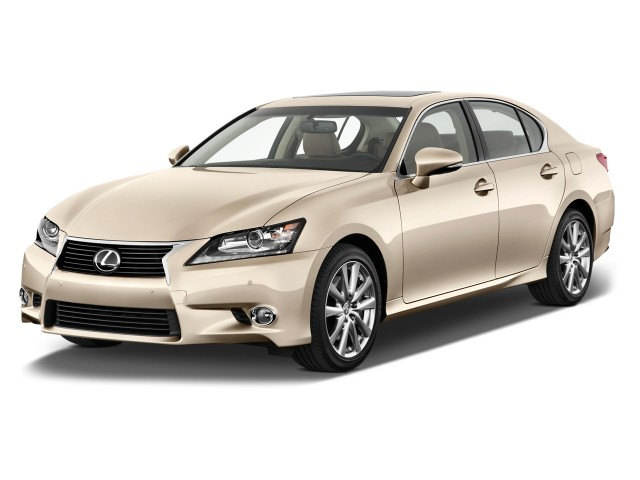 2015 Lexus GS 450h 4-door Sedan Hybrid Angular Front Exterior View