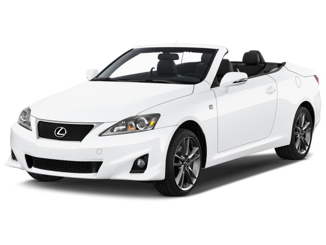 2015 Lexus IS 350C 2-door Convertible Angular Front Exterior View