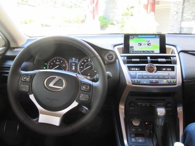 2015 lexus nx 300h hybrid: first drive of luxury compact utility