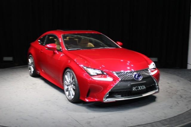 2015 Lexus RC Coupe  -  2013 Tokyo Motor Show live photos