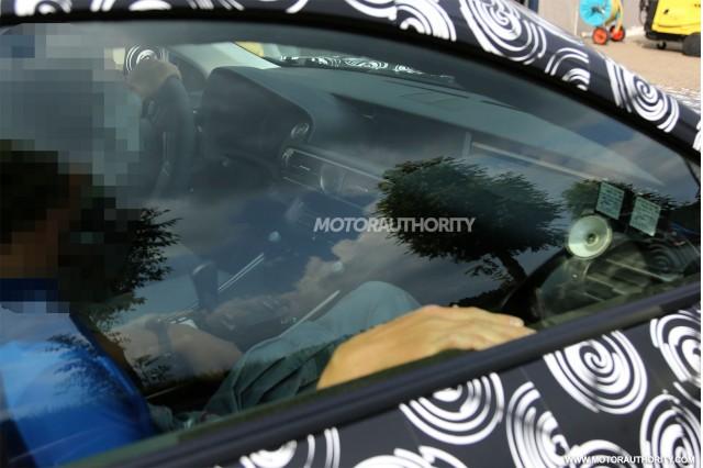 2015 Lexus RC F spy shots