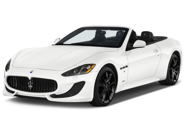 2015 Maserati GranTurismo 2-door Convertible GranTurismo Sport Angular Front Exterior View