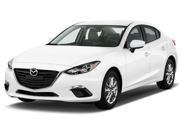 2015 Mazda MAZDA3 4-door Sedan Auto i SV Angular Front Exterior View
