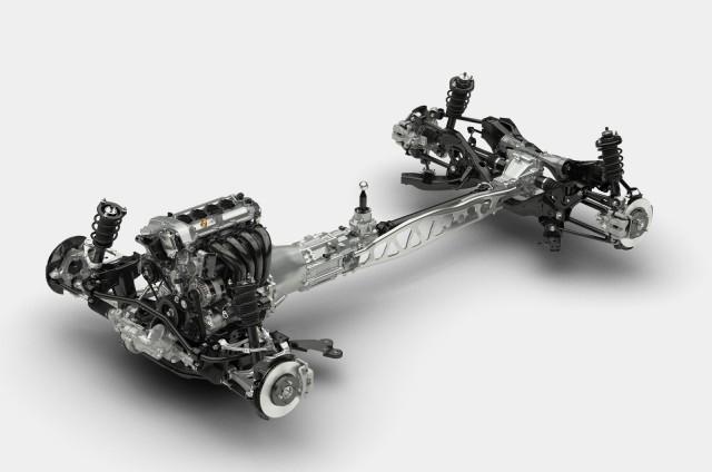 2016 Mazda MX-5 Miata SkyActiv chassis, 2014 New York Auto Show