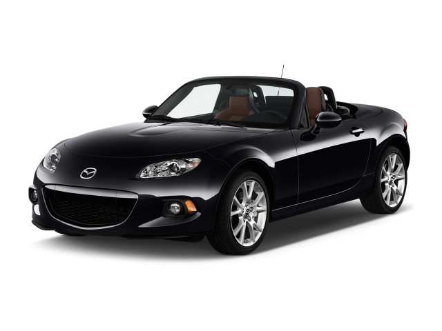 2015 Mazda MX-5 Miata 2-door Convertible Auto Grand Touring Angular Front Exterior View