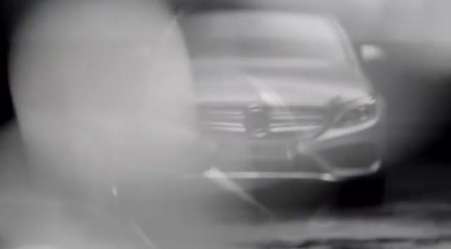 2015 Mercedes-Benz C-Class teaser