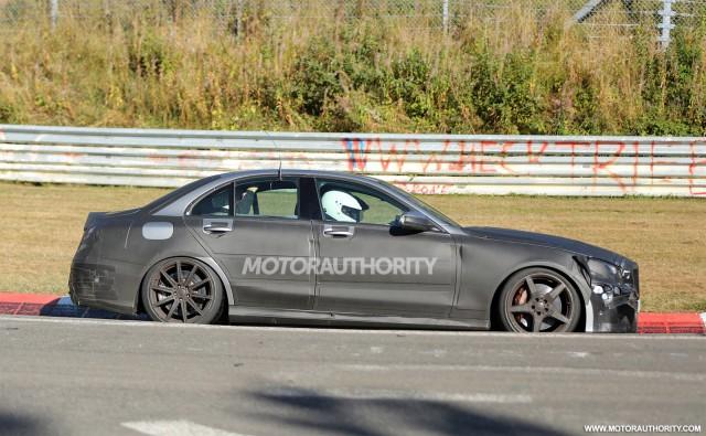 2015 Mercedes-Benz C63 AMG replacement spy shots