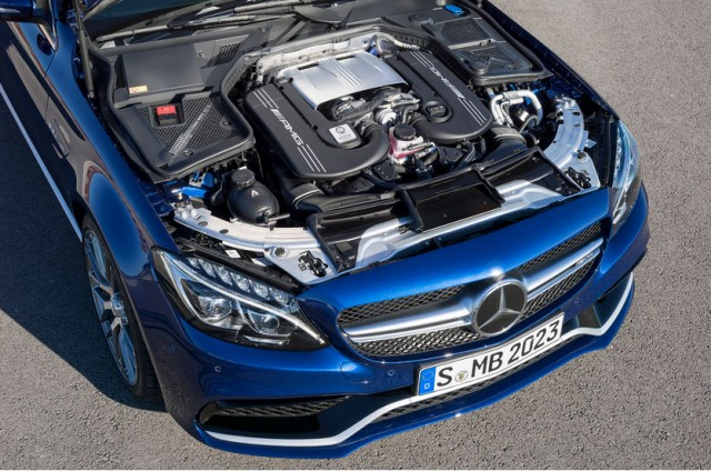 C63 amg horsepower 2015