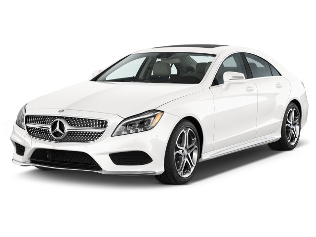 2015 Mercedes Benz CLS Class 4 Door Sedan CLS400 4MATIC Angular Front Exterior View Reviews Specs Photos Inventory